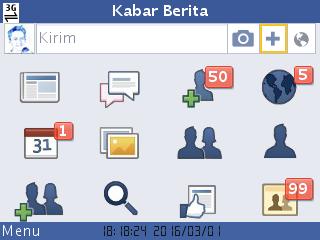 aplikasi facebook seluler s60v2