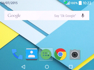 Lollipop Navibar Symbian